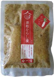 一ノ蔵 酒粕からし漬(だいこん)